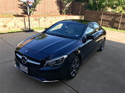 2018 Mercedes-Benz CLA Coupe lease in Southlake,TX - Swapalease.com