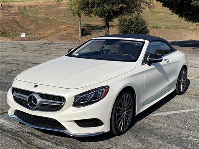 2017 Mercedes-Benz S-Class Cabriolet lease in Woodland Hills,CA - Swapalease.com