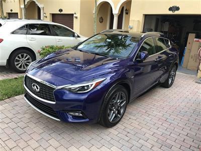 2017 Infiniti QX30 lease in Miami,FL - Swapalease.com