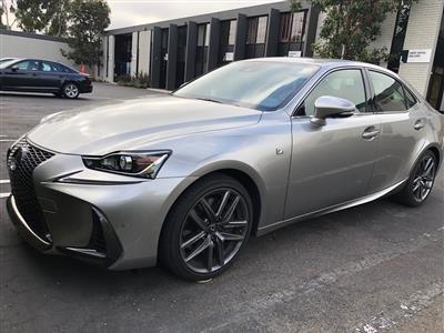 2019 Lexus IS 300 F Sport lease in Irvine,CA - Swapalease.com