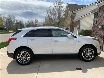 2017 Cadillac XT5 lease in Noblesville,IN - Swapalease.com