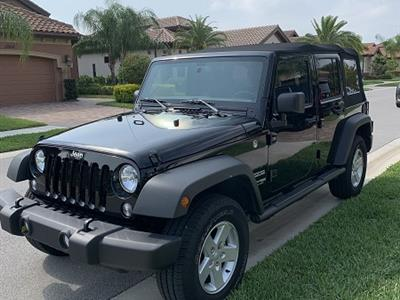2018 Jeep Wrangler Unlimited lease in Naples,FL - Swapalease.com