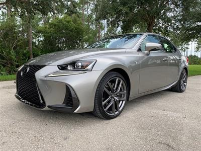 2018 Lexus IS 300 F Sport lease in Cape Coral,FL - Swapalease.com