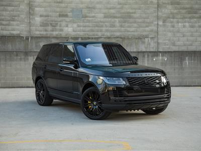2018 Land Rover Range Rover lease in Los Angeles,CA - Swapalease.com