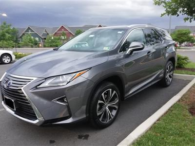 2018 Lexus RX 450h lease in Sterling,VA - Swapalease.com
