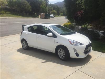 2016 Toyota Prius c lease in 1000 Oaks,CA - Swapalease.com