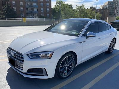 2018 Audi S5 Sportback lease in Rego Park,NY - Swapalease.com
