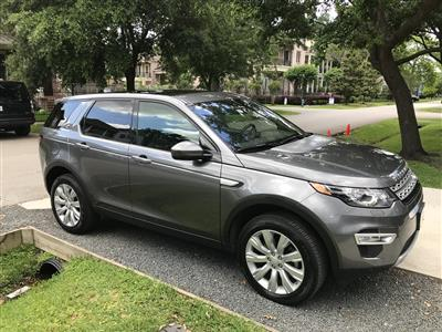 2017 Land Rover Discovery Sport lease in Houston,TX - Swapalease.com