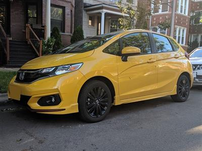 2018 Honda Fit lease in Chicago,IL - Swapalease.com