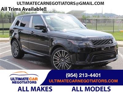 2020 Land Rover Range Rover Sport lease in Fort Lauderdale,FL - Swapalease.com