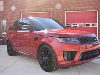 2018 Land Rover Range Rover Sport lease in Elmhurst,IL - Swapalease.com