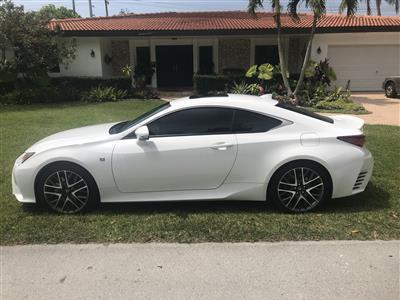 2017 Lexus RC 350 F Sport lease in Homestead,FL - Swapalease.com