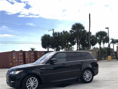 2016 Land Rover Range Sport Lease In West Palm Peach Fl Swapalease