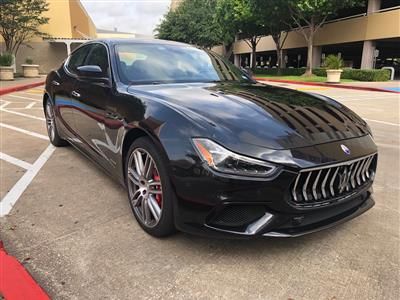 2018 Maserati Ghibli lease in Houston,TX - Swapalease.com