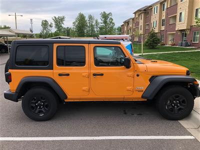 2018 Jeep Wrangler Unlimited lease in Clinton Twp,MI - Swapalease.com