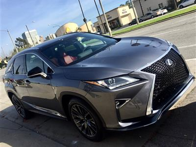 2017 Lexus RX 350 F Sport lease in Burbank,CA - Swapalease.com