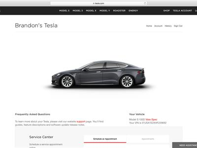 2017 Tesla Model S lease in Scotts Valley,CA - Swapalease.com