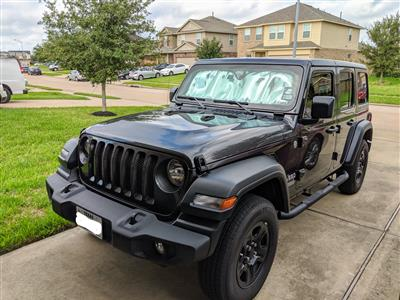 2019 Jeep Wrangler Unlimited lease in CYPRESS,TX - Swapalease.com