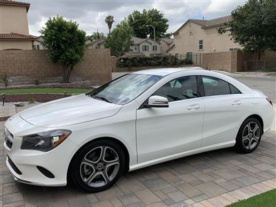 2018 Mercedes-Benz CLA Coupe lease in Riverside,CA - Swapalease.com