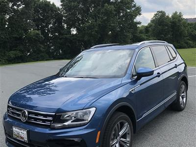 2019 Volkswagen Tiguan lease in Rockville,MD - Swapalease.com