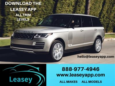 2019 Land Rover Range Rover lease in Chicago,IL - Swapalease.com
