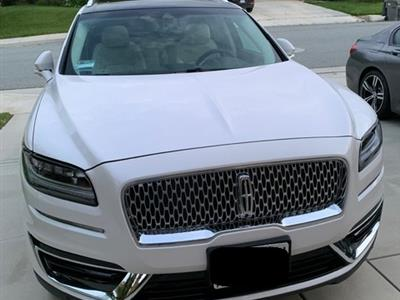 2019 Lincoln Nautilus lease in Beaumont,CA - Swapalease.com