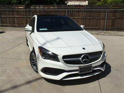 2018 Mercedes-Benz CLA Coupe lease in Glendale ,CA - Swapalease.com