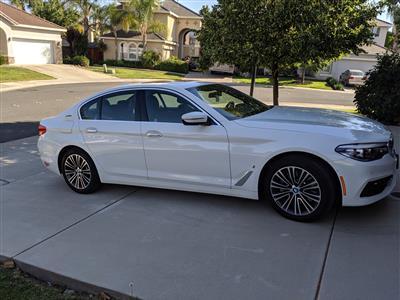 2018 BMW 5 Series lease in SACRAMENTO,CA - Swapalease.com