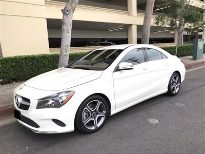 2018 Mercedes-Benz CLA Coupe lease in Sheman Oaks ,CA - Swapalease.com