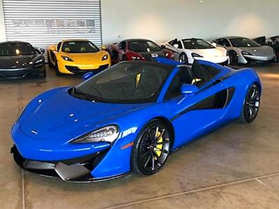 2018 McLaren 570S Spider lease in Montgomery,TX - Swapalease.com