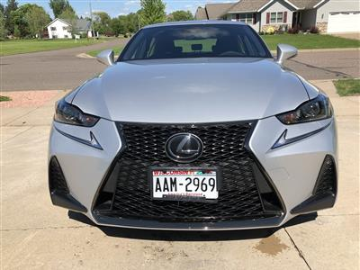 2017 Lexus IS 300 F Sport lease in Rice lake,WI - Swapalease.com