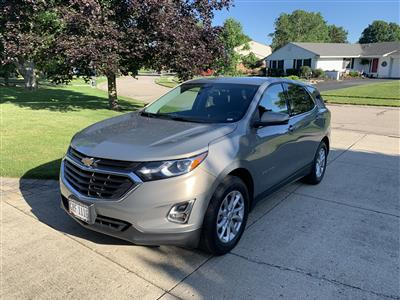 2018 Chevrolet Equinox lease in CENTERVILLE,OH - Swapalease.com