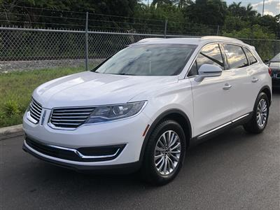 2018 Lincoln MKX lease in Hialeah Gardens,FL - Swapalease.com