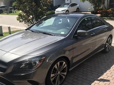2017 Mercedes-Benz CLA Coupe lease in Hollywood,FL - Swapalease.com