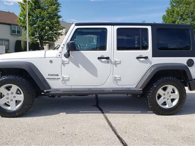 2017 Jeep Wrangler Unlimited lease in Mount Prospect,IL - Swapalease.com