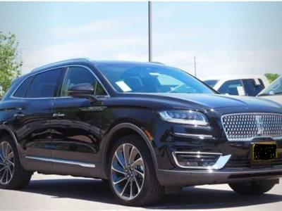 2019 Lincoln Nautilus lease in Sellersburg,IN - Swapalease.com