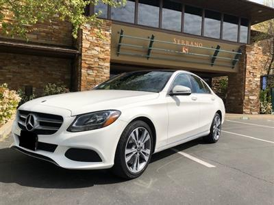2018 Mercedes-Benz C-Class lease in EL Dorado Hills,CA - Swapalease.com