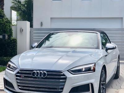 2018 Audi S5 Cabriolet lease in Miami,FL - Swapalease.com