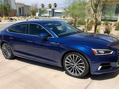 2018 Audi A5 Sportback lease in PALMS SPRINGS,CA - Swapalease.com