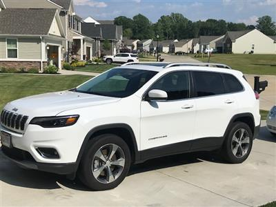 2019 Jeep Cherokee lease in Mentor,OH - Swapalease.com