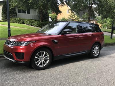 2018 Land Rover Range Rover Sport lease in Winter Park,FL - Swapalease.com