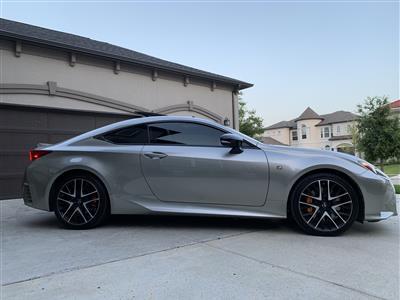 2018 Lexus RC 350 F Sport lease in Frisco,TX - Swapalease.com