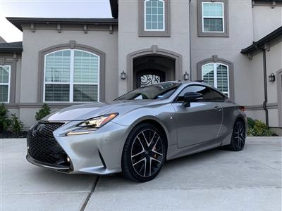 2018 Lexus RC 350 F Sport lease in Frisco,TX - Swapalease.com