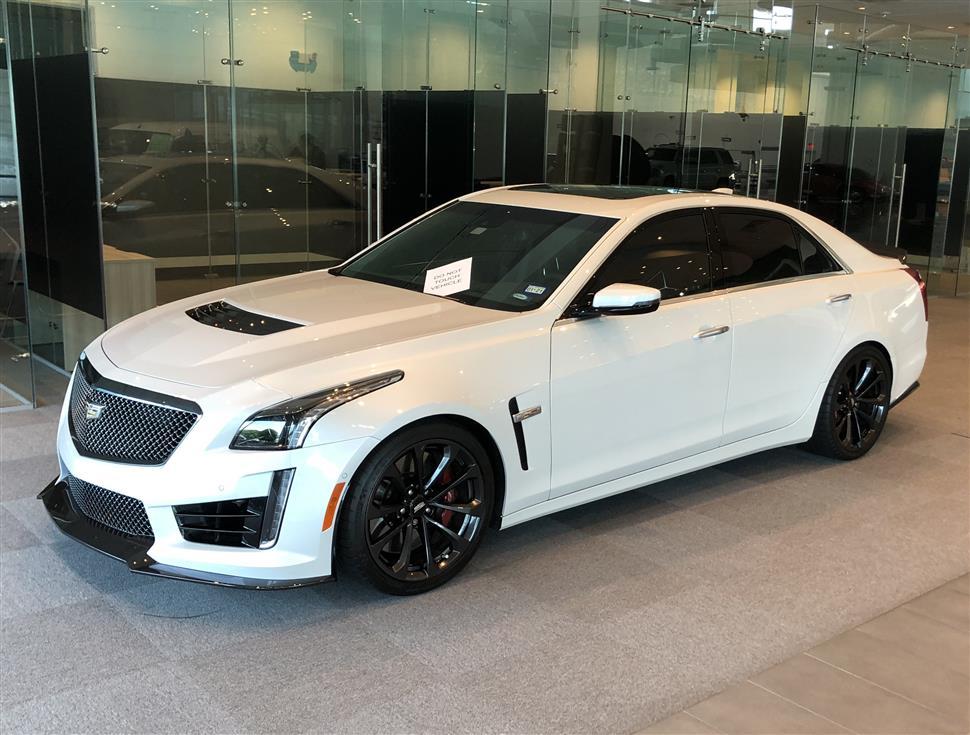 Cadillac Cts V Lease >> 2019 Cadillac Cts V Lease In Montgomery Tx