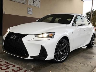 2019 Lexus IS 300 F Sport lease in Chino,CA - Swapalease.com