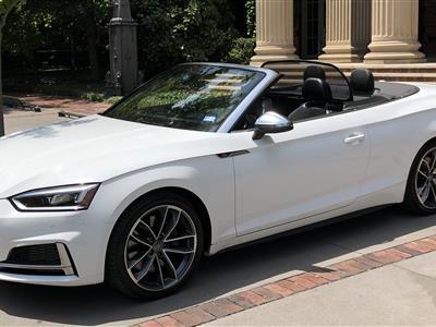 2018 Audi S5 Cabriolet lease in Dallas,TX - Swapalease.com