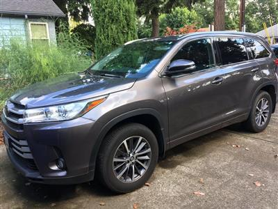 2018 Toyota Highlander lease in Portland,OR - Swapalease.com