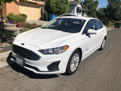 2019 Ford Fusion Hybrid lease in Santa Rosa,CA - Swapalease.com