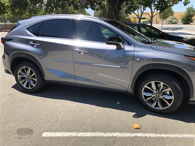 2018 Lexus NX 300 F Sport lease in Redwood City,CA - Swapalease.com