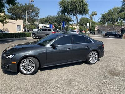 2018 Audi A4 lease in West Hollywood,CA - Swapalease.com